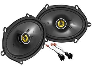 """6x8"""" Front Speaker Replacement Kit For 2001-2005 Ford Explorer Sport Trac"""