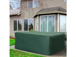 "Clearance Sale 81""x57"" 6/7/1202 Set Po Cover Furniture UV Rain Protector"