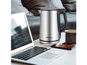 Home Electric Kettle Water Boiler Stainless Steel 1500W 1.5L BPA Free For Home