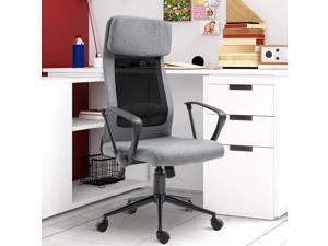 Breathable Office Chair Height Adjustable Swivel Chair With Tilt Function