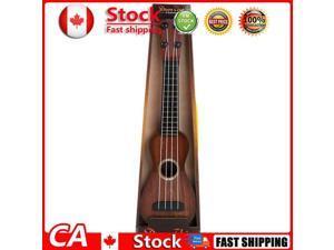 Simulon Wood Grain Ukelele Guitar Toys Kids Musical Instrument Brown CA