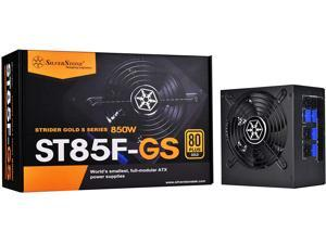 SilverStone Technology 850W Computer Power Supply PSU Fully Modular with 80 Plus Gold & 140mm Design Power Supply (SST-ST85F-GS-V2)