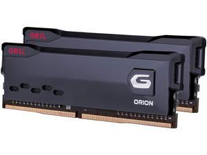 GeIL Orion DDR4 RAM, 16GB (8GBx2) 3600MHz 1.35V XMP2.0, Intel/AMD Compatible, Long DIMM High Speed Desktop Memory, Hardcore Immersive Gaming/Multimedia Content Creation/Quality Live Streaming