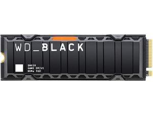 WD_Black 500GB SN850 NVMe Internal Gaming SSD Solid State Drive with Heatsink - Gen4 PCIe, M.2 2280, 3D NAND, Up to 7,000 MB/s - WDS500G1XHE