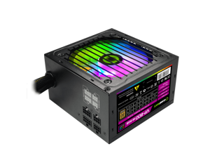 RGB Power Supply 800W Semi Modular 80+ Bronze, RGB Fan ATX Half Modular Power Supply