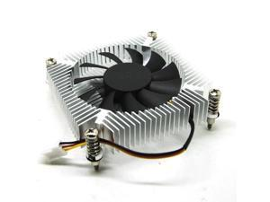 Only 16mm thick 1U ultrathin 1150 1151 1155 radiator Ball bearing fan for ITX all-in-one 2700+-10% RPM fan