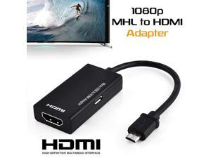 For Type C & Micro USB To HDMI Adapter Digital Video Audio Converter Cable HDMI Connector For Laptop Phone With MHL Port