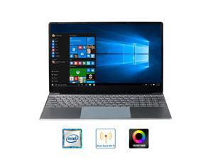 LHMZNIY AID 3-Intel Celeron J3455 15.6 inch 1920*1080 IPS Screen Windows 10 Laptop Quad Core Notebook 8G RAM+256G ROM Office Laptop