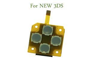 10pcs For New 3DS for New 3DS XL LL 2015 Version Direction Cross Button Left Key Keyboard Flex Cable