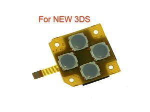 1pcs For New 3DS for New 3DS XL LL 2015 Version Direction Cross Button Left Key Keyboard Flex Cable