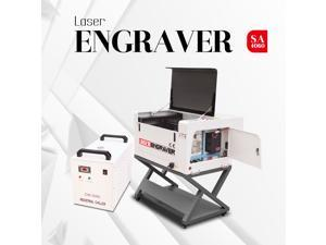 New CO2 Laser Engraver Cutter 6040 80W RUIDA Engraving Cutting Machine 600*400MM