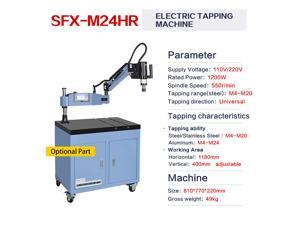 USA Stock Universal 360° Electric High Speed Tapping Drilling Machine Flexible Arm M4-M24 Tapping with ISO Chuck Holder