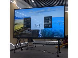 100 Inch  Full HD Digital Signage Monitors - Interactive, Feilongus FL100TDTS
