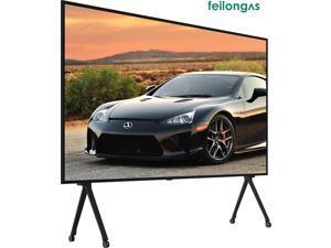 Largest TV - 110 Inch UHD 4K LED Smart Frameless HDTV Feilongus