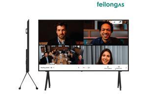 98 Inch Smart Touch Screen Monitor for Confernece, Interactive And AIO, 5 mm Tempered Explosion-Proof Glass, Safe And Secure, FL98TPTB Feilongus