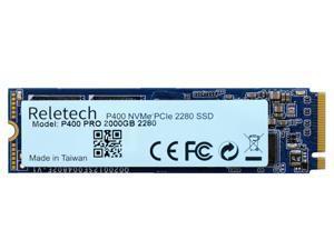 Reletech P400 Pro Q 2TB NVMe PCIe 4.0 M.2 2280 Internal SSD M2 SSD DRIVE Maximum Performance Solid State Drive R/W 5000/3700 MB/s Gaming PCI-E Gen 4X4 NVMe(RT-P400Q-2TB)