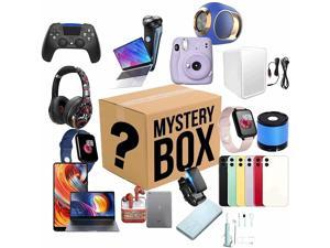 Mystery Box Lucky Mysteries Boxes Lucky Boxes Mystery Boxes Electronic , Lucky Boxes,Mysterious Random Products,There is A Chance to Open: Such As Drones, Smart Watches, Gamepads, Digital Cameras