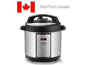 6 Qts Pressure Cooker, 18-in-1 Multi-Use Programmable Stainless Rice cooker