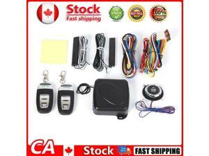 Car Keyless Entry Engine Start Alarm System Push Button Remote Starter Stop CA