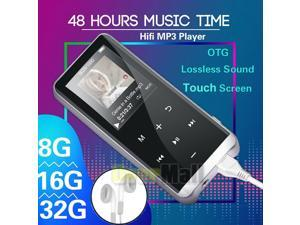 Bluetooth Touch Screen OLED MP3 Player Sport Lossless Sound HIFI Music Player US