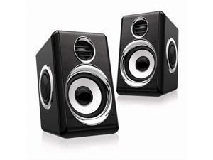 Computer Speakers 8W PC Speakers USB Speaker with Stereo Sound Wired Monitor Speakers for Desktop Computer/PC/TV/Laptop Gaming Speaker