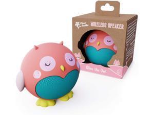 Bluetooth Speaker, Kids Portable Wireless Speaker (Pink Owl)