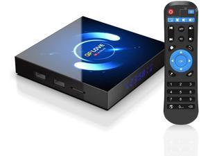 Android 10.0 TV Box , 4GB RAM 128GB ROM H616 6K Smart TV Box Android Box, Support 3D/Bluetooth 5.0/Dual WiFi 2.4G 5G /100M LAN/USB 2.0 Android TV Box