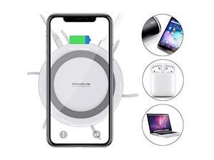 USB Charging Station for Multiple Devices, Wireless Charging Pad with Docking Station Cellphone Charging Station Charger Organizer for iPhone/iPad/Samsung/Tablet/Family (Fast Charge Adapter)