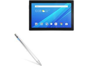 Lenovo Tab 4 (10 in) Stylus Pen, BoxWave [AccuPoint Active Stylus] Electronic Stylus with Ultra Fine Tip for Lenovo Tab 4 (10 in) - Metallic Silver