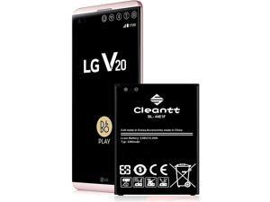 LG V20 Battery,3300 mAh Li-Ion Battery for LG V20 BL-44E1F US996, AT&T H910, T-Mobile H918, Verizon VS995, Sprint LS997 Spare Battery
