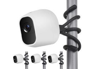 3 Pack Flexible Tripod for Arlo Pro, Arlo Ultra, Arlo Pro2,Arlo Baby, Arlo Pro 3, Arlo Go,Wall Mount Bracket,Attach Your Arlo Home Security Camera Everywhere - Black