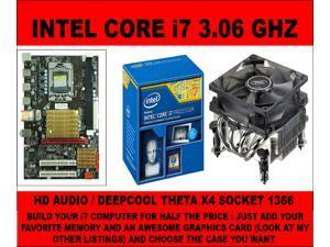 SOCKET 1366 x58 MOTHERBOARD +  i7-950 3.33GHZ QUAD CORE AND HEATSINK