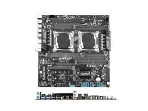 X99-z8 Dual-Channel Computer Motherboard for Mining Chia coin Desktop Server Big Board DDR4 256GB Memory Support E5 2680 V3/V4 CPU Game Mining Chia coin Motherboard