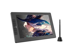 VEIKK VK1200 Drawing Monitor Full-Laminated Graphics Drawing Tablet Monitor with Tilt Function Battery Free Stylus and 6 Shortcut Keys (8192 Levels Pen Pressure and 72% NTSC)-11.6 Inch IPS Pen display