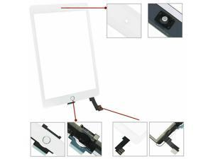 OEM SPEC Digitizer Glass Touch Screen For iPad Air 2 A1566 A1567 + Home Button