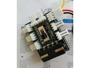 MOLEX Fan 1 to 8 Channel Hub 12V 4 Pin IDE Power Supply Splitter Adapter PC Fan
