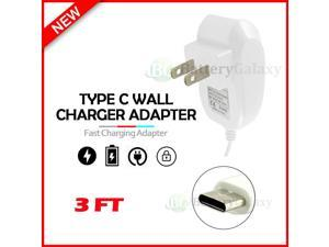 USB Type-C Wall Charger for Android Phone LG Harmony 4 / Wing / K51 / K92 /Q70