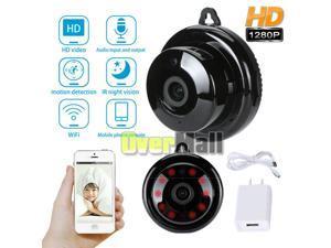 USA Mini Camera Wireless Wifi IP Home Security HD 1080P Night Vision DVR Remote