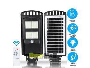 90000LM All in One Solar Street Light Commercial Outdoor IP67 Area RoadLamp+Pole
