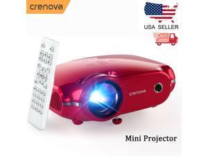 Mini LED Projector Video Projector Home Theater HDMI VGA USB AV TV BOX