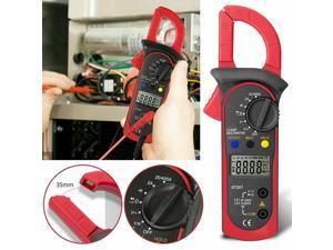LED Digital Voltmeter Ammeter Ohmmeter Multimeter Volt AC DC Meter Tester Clamp