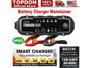 Automotive 6V 12V Car Dead Battery Charger Maintainer Desulfator Diagnostic Tool