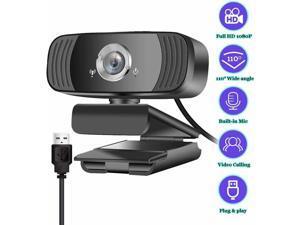 1080P Full HD USB Webcam Auto focus Microphone for PC Laptop Computer Web Camera