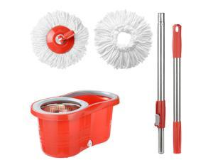 Home Room Bucket System Detachable Spinning Basket  Easy Wring 360° Magic Mop