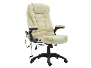 Heated Vibrng Massage Executive Office Chair High Back Remote Control