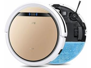 2-in-1 Robotic Vacuum Cleaner and Mopping Slim Automc Self-Charging