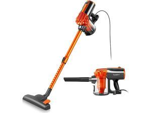 Vacuum Cleaner Corded Bagless Stick and Handheld Vacuum with Long Power Cord