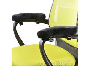 Ergonomic Office Chair Armrest Pads, Comfy Elbow Cushion with Straps, 2 Packs