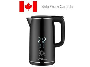 1.7 Smart Temp Digital Kettle Double -layer stainless water Boiler