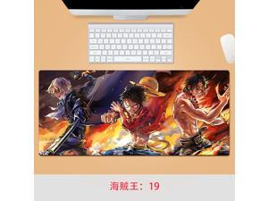 One Piece mouse pad   large gaming mousepad accessories xl xxl pad mouse PC desk padmouse Lock Edge Desk Pad